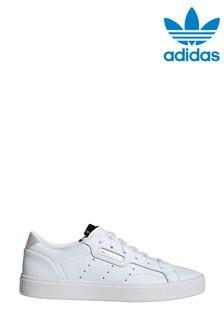 Белые кроссовки adidas Originals Sleek