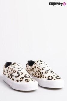 Pantofi sport cu imprimeu leopard clasici Superdry
