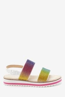 Sandales compensées brillantes (Garçon)