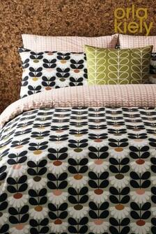 Orla Kiely Wild Daisy Geo Cotton Duvet Cover