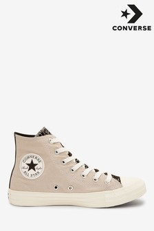 Converse Croc Print High Trainers