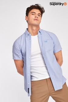 Superdry Blue Short Sleeve Shirt