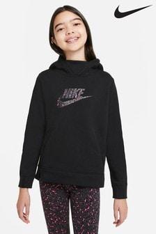 קפוצ'ון ללא רוכסן בהדפס מנומר של Nike