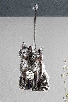 Cat Lovers Hanging Ornament