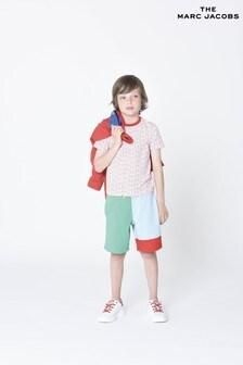 The Marc Jacobs Shorts in Blockfarben, mehrfarbig