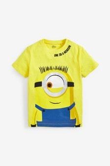 Minions Print T-Shirt (3-12yrs)