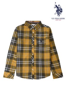 U.S. Polo Assn. Striker Check Long Sleeve Shirt