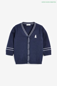 Benetton Navy Cardigan