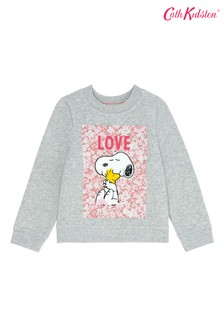 Cath Kidston® Snoopy Love Paper Ditsy Kids Sweatshirt