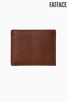 FatFace Tan Brown Classic Grained Wallet