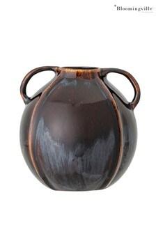 Bloomingville Brown Stoneware Vase