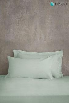 Lot de 2 taies d'oreillers enTENCEL™ Cool Touch à tissage 200 fils