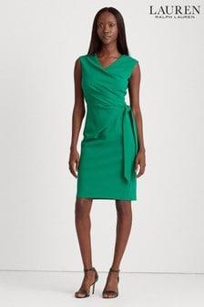 שמלה של Lauren Ralph Lauren® דגם Cleonie בירוק