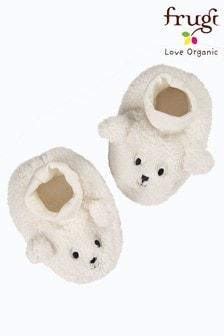 מגפונים מחומר ממוחזר של Frugi, דגם Snuggly Sheep בצבע שמנת
