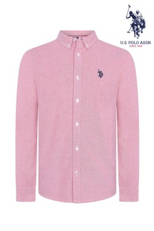 U.S. Polo Assn. - Oxford overhemd met lange mouwen