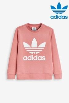 adidas Originals Pink Trefoil Crew Sweater