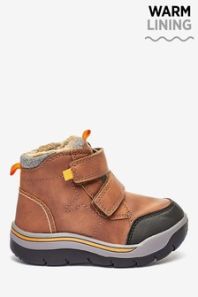 Double Strap Walking Boots (Younger)