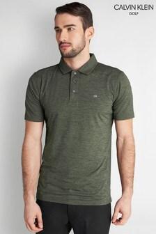 חולצת פולוירוקה של Calvin Klein Golf דגם Newport