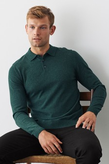 قميص بولو منسوج