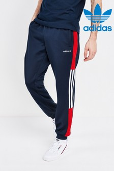 Pantalon de jogging adidas Originals motif colour block bleu marine