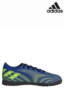 adidas Blue Kids Nemeziz P4 Turf Football Boots
