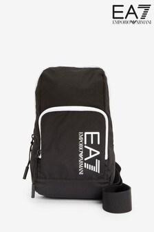 Čierny ruksak Emporio Armani EA