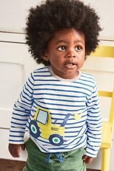 Boden Blue Big Appliqué T-Shirt