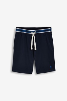 Stripe Waistband Lightweight Shorts