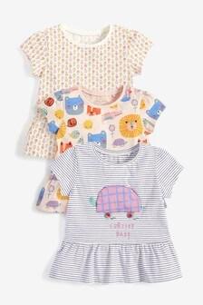 3件組T恤 (3個月至7歲)
