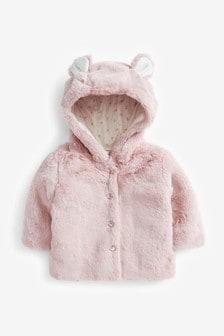 Faux Fur Jacket (0mths-2yrs)