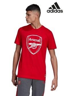 Красная футболка adidas Arsenal DNA