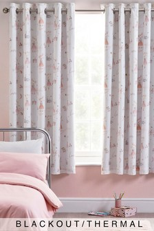 Mabel Mouse Eyelet Blackout Curtains
