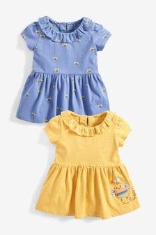 2件裝蜜蜂T恤 (3個月至7歲)