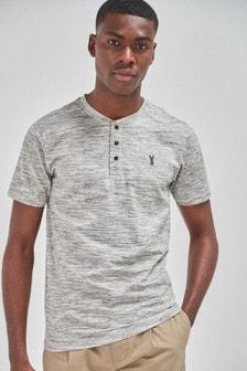 Slim Fit Grandad T-Shirt