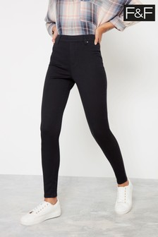 F&F Black Jegging Jeans