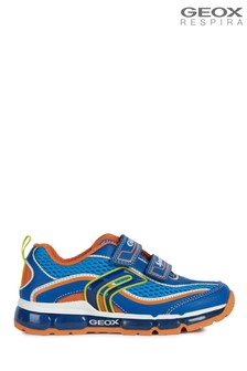 Geox Boys Android Blue Velcro Shoes