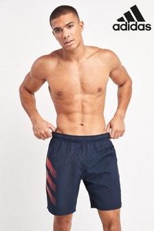 adidas Navy Badge Of Sport Swim Shorts
