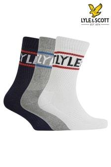 Lyle & Scott 襪子3對裝