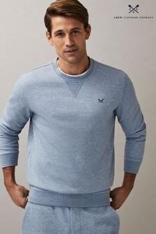 Crew Clothing Company ブルー クルーネック スウェットシャツ