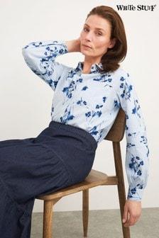 חולצת ג'ינס אורגנית של White Stuff דגם Skys בכחול