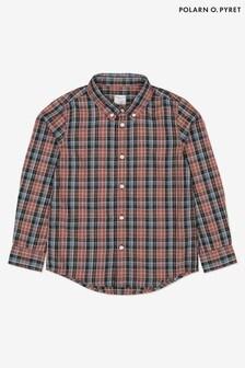 قميص أحمر مربعات من Polarn O' Pyret