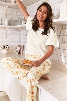 Пижама с цветами
