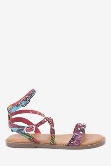 Strappy Stud Sandals (Older)