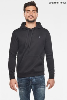 G-Star Black Premium Core Hooded Sweater