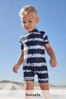 Sonnenschutz-Badeanzug (3Monate bis 7Jahre)