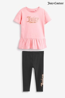 Juicy Couture Jersey Dress & Leggings Set