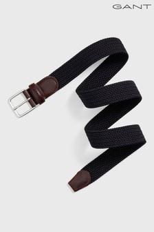 GANT Blue Elastic Braid Belt