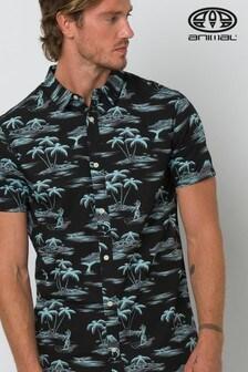 Animal Black Flanagan Short Sleeve Shirt