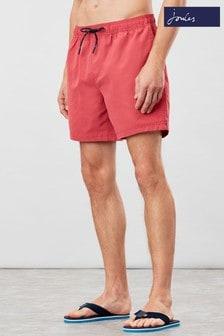 Joules Pink Heston Printed Swim Shorts