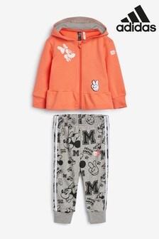 adidas - Completo corallo con Minnie Mouse™ neonati